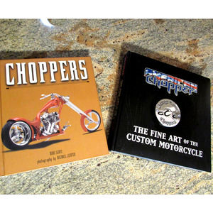 Choppers & American Choppers Books Collectors